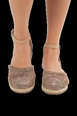 Tonny Black - Tonny Black Bej Kadın Sandalet Tb509