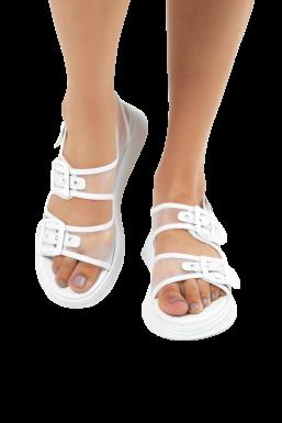 Tonny Black - Tonny Black Beyaz Kadın Sandalet Tb504