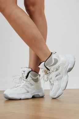 Tonny Black - Beyaz Kadın Spor Ayakkabı Tbself1
