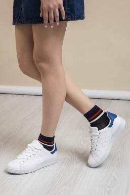 Tonny Black - Tonny Black Beyaz Sax Bayan Spor Ayakkabı Tbstn
