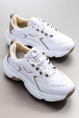 Tonny Black - Tonny Black Beyaz Toprak Kadın Spor Ayakkabı Tb288 TB288-1_233