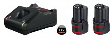 Bosch Profesyonel Seri - Bosch Professional GAL 12V-40 +2 x GBA 2,0Ah