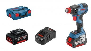 Bosch Profesyonel Seri - Bosch Professional GDX 18V-200 C 5,0 Ah Çift Akülü Darbeli Somun Sıkma - Kömürsüz Motor