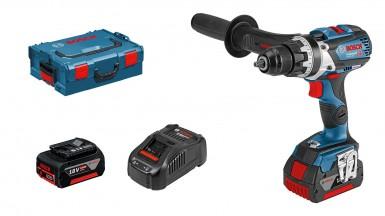 Bosch Profesyonel Seri - Bosch Professional GSR 18 V-85 C 5 Ah Çift Akülü Delme/Vidalama - L-boxx Çantalı