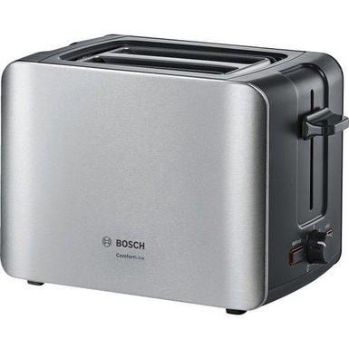 Bosch - Bosch TAT6A913 Kompakt Ekmek Kızartma Makinesi Paslanmaz Çelik / Siyah