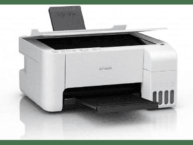 Epson - Epson L3156 Wi-Fi + Tarayıcı + Fotokopi Renkli Çok Fonksiyonlu Tanklı Mürekkep Püskürtmeli Yazıcı