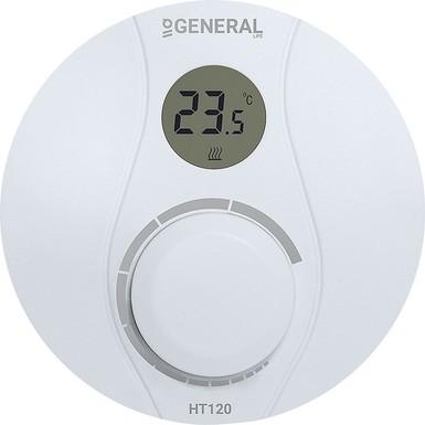 General - General HT120 Kablolu Dijital Oda Termostatı - Ücretsiz Sevk