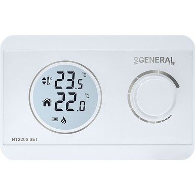 General - General HT220S Kablolu Dijital Oda Termostatı