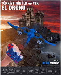 Goldmaster - Goldmaster GM-010 BLUE WINGS DRON