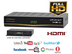 Goldmaster - Goldmaster HD-1200 SPARK Dijital Uydu Alıcısı