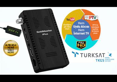 Goldmaster - Goldmaster IPLUS Dijital Uydu Alıcısı