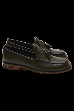 Tonny Black - Tonny Black Haki Erkek Loafer Ayakkabı Tb51