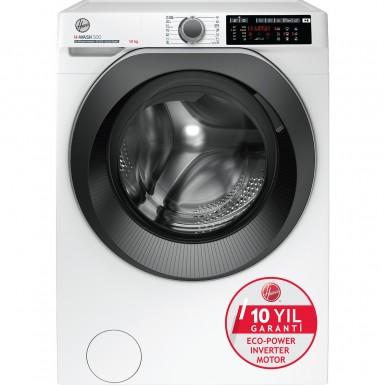Hoover - Hoover HW 210AMBS/1-17 10 kg Wi-Fi + Bluetooth Bağlantılı 1200 Devir Çamaşır Makinesi