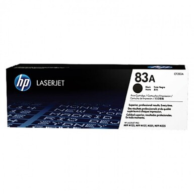 Hp - Hp 83A Siyah Toner 1500 Sayfa CF283A (Distribütör Garantili)