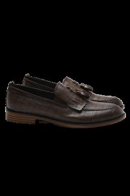 Tonny Black - Tonny Black Kahve Erkek Loafer Ayakkabı Tb23C
