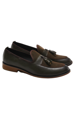 Tonny Black - Tonny Black Kahve Erkek Loafer Ayakkabı Tb50