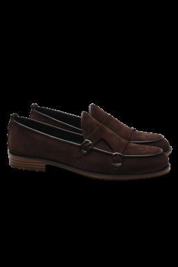 Tonny Black - Tonny Black Kahve Siyah Erkek Loafer Ayakkabı Tb62
