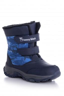 Tonny Black - Tonny Black Lacivert Çocuk Trekkıng Bot Tbsrk TBSRK-3_112