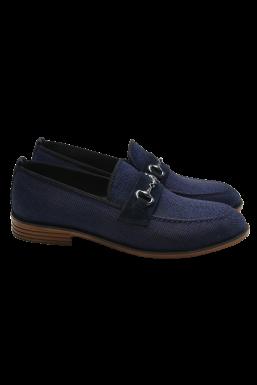 Tonny Black - Tonny Black Lacivert Erkek Loafer Ayakkabı Tb23