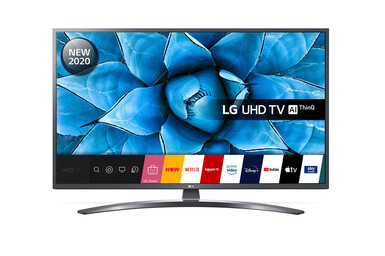 LG - LG 43UN74006LB 4K Ultra HD Smart LED TV