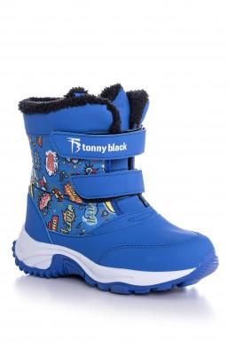 Tonny Black - Tonny Black Mavi Çocuk Trekkıng Bot Tbpop TBPOP-3_130