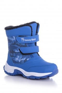 Tonny Black - Tonny Black Mavi Çocuk Trekkıng Bot Tbsrk TBSRK-3_130