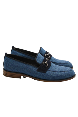Tonny Black - Tonny Black Mavi Erkek Loafer Ayakkabı Tb23