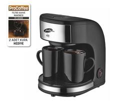 --- - Goldmaster PC-3202B ProCoffee Mini Filtre Kahve Makinesi