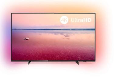 Philips - Philips 55PUS6704/12 139 Cm 4K Ultra HD HDR 10 Plus Led 3 Taraflı Ambilight Dahili Uydu Alıcılı Tv