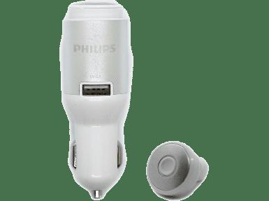 Philips - Philips SHB1803 Bluetooth 4.2 Kulak İçi Kulaklık + USB 2.4A Araç İçi Şarj Adaptörü