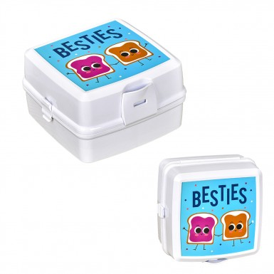 Plastart - Plastart 2 Adet Beyaz Lunch Box Fırsat Seti