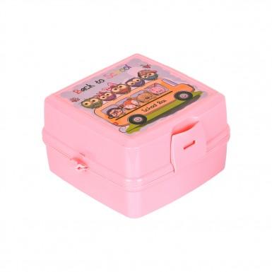 Plastart - Plastart 2 Adet Pembe Lunch Box Fırsat Seti