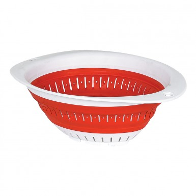 Plastart - Plastart Katlanır Süzgeç - Kırmızı