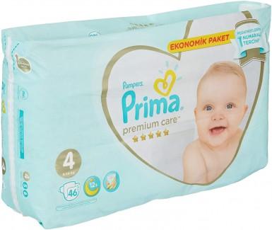 Prima - Prima Bebek Bezi Premium Care 4 Beden 46 Adet Maxi Jumbo Paket