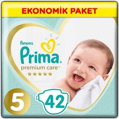 Prima - Prima Bebek Bezi Premium Care 5 Beden 42 Adet Junior Jumbo Paket