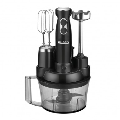 Queen - Queen Blendmix Pro 5'li Blender Set - Siyah