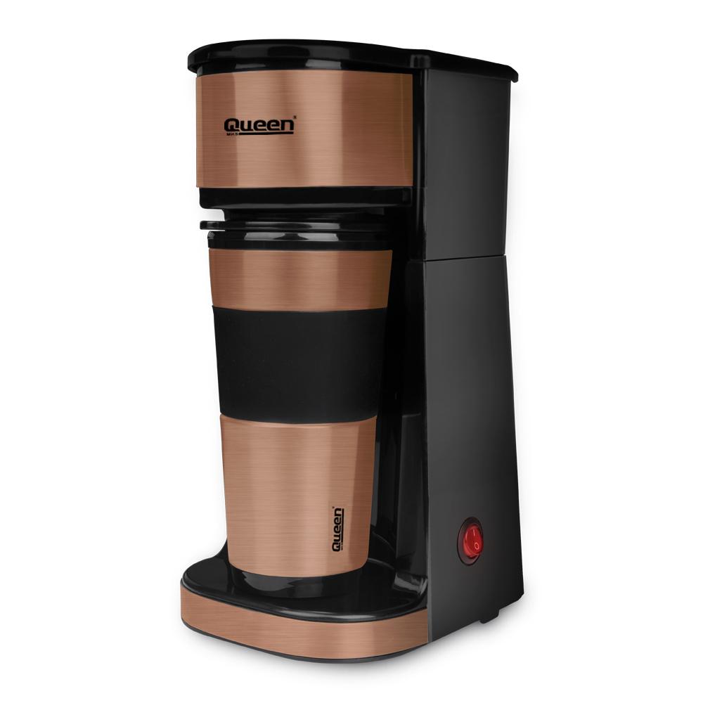 Queen - Queen Preston QC-039 Gold Filtre Kahve Makinesi
