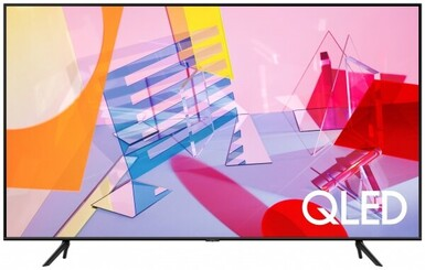 Samsung - Samsung QE-50Q60T 4K Ultra HD Uydu Alıcılı Smart QLED Televizyon