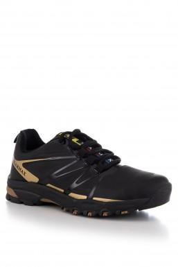Tonny Black - Tonny Black Siyah Altın Erkek Trekking Ayakkabı Dgstx DGSTX-2_359