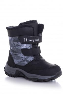 Tonny Black - Tonny Black Siyah Çocuk Trekkıng Bot Tbsrk TBSRK-3_101