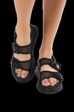Tonny Black - Tonny Black Siyah Kadın Sandalet Tb504