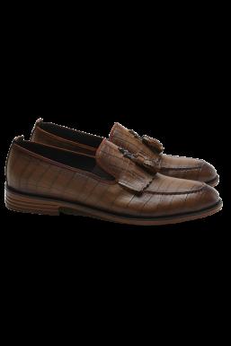 Tonny Black - Tonny Black Taba Erkek Loafer Ayakkabı Tb23C
