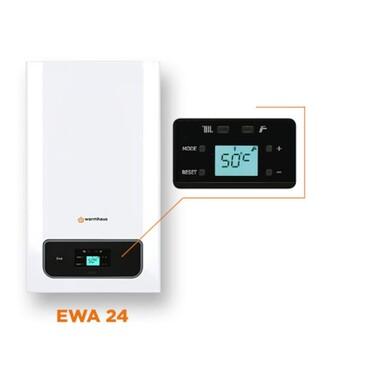 Warmhaus - WARMHAUS EWA 24 20.640 kcal/h Premix Yoğuşmalı Kombi