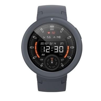 Xiaomi - Xiaomi Amazfit Verge Lite Siyah Bluetooth GPS Akıllı Saat